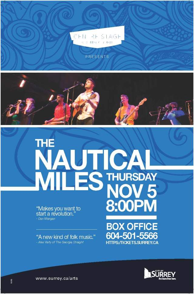 (15618) The Nautical Miles Poster 11 X 17